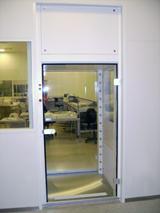 Aktive Personen und Material Luftduschen Reinraum